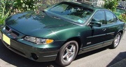 2000 Pontiac Grand Prix GTP with a SuperCharged Engine Only 2093 miles